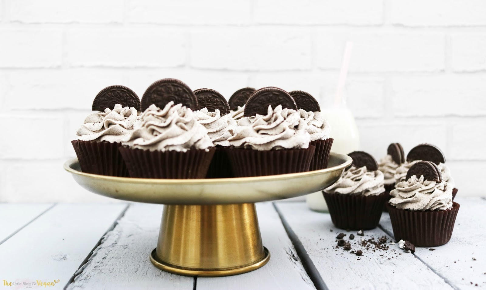 The Best Vegan Oreo Cupcake Recipe The Little Blog Of Vegan