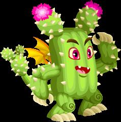 Dragón Cactus (Adulto)