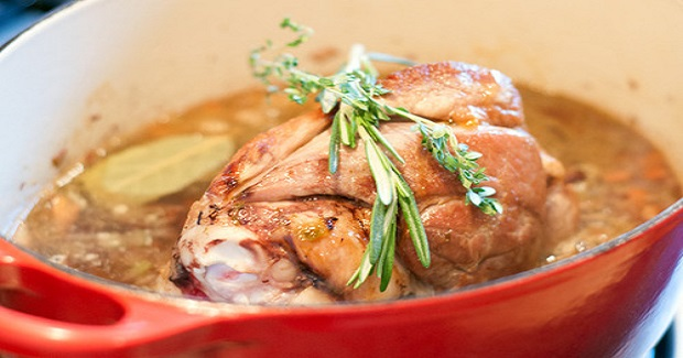 Italian Slow Roasted Pork Shank Recipe