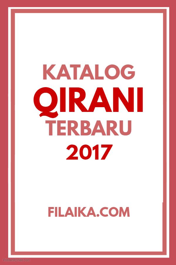 Katalog Qirani 2017