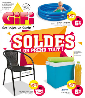 Catalogue GiFi 04 au 31  Juillet 2017