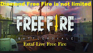 Diamond Free Fire is not limited to Extaf Live FF