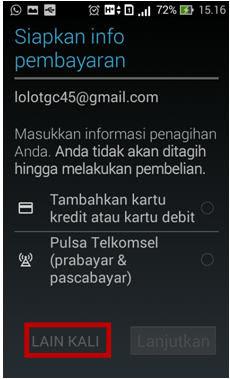 cara buat akun email gmail baru lewat HP