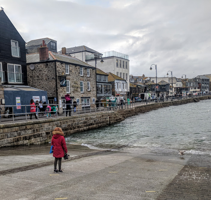 How to spend an evening in St Ives with kids  - lifeboat launch area