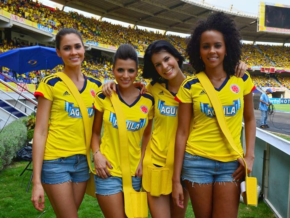 Olympic Games Rio 2016: sexy hot girls, fans, athletes, beautiful woman supporter of the world. Pretty amateur girls, pics and photos. Brazil 2016. Colombia colombiana
