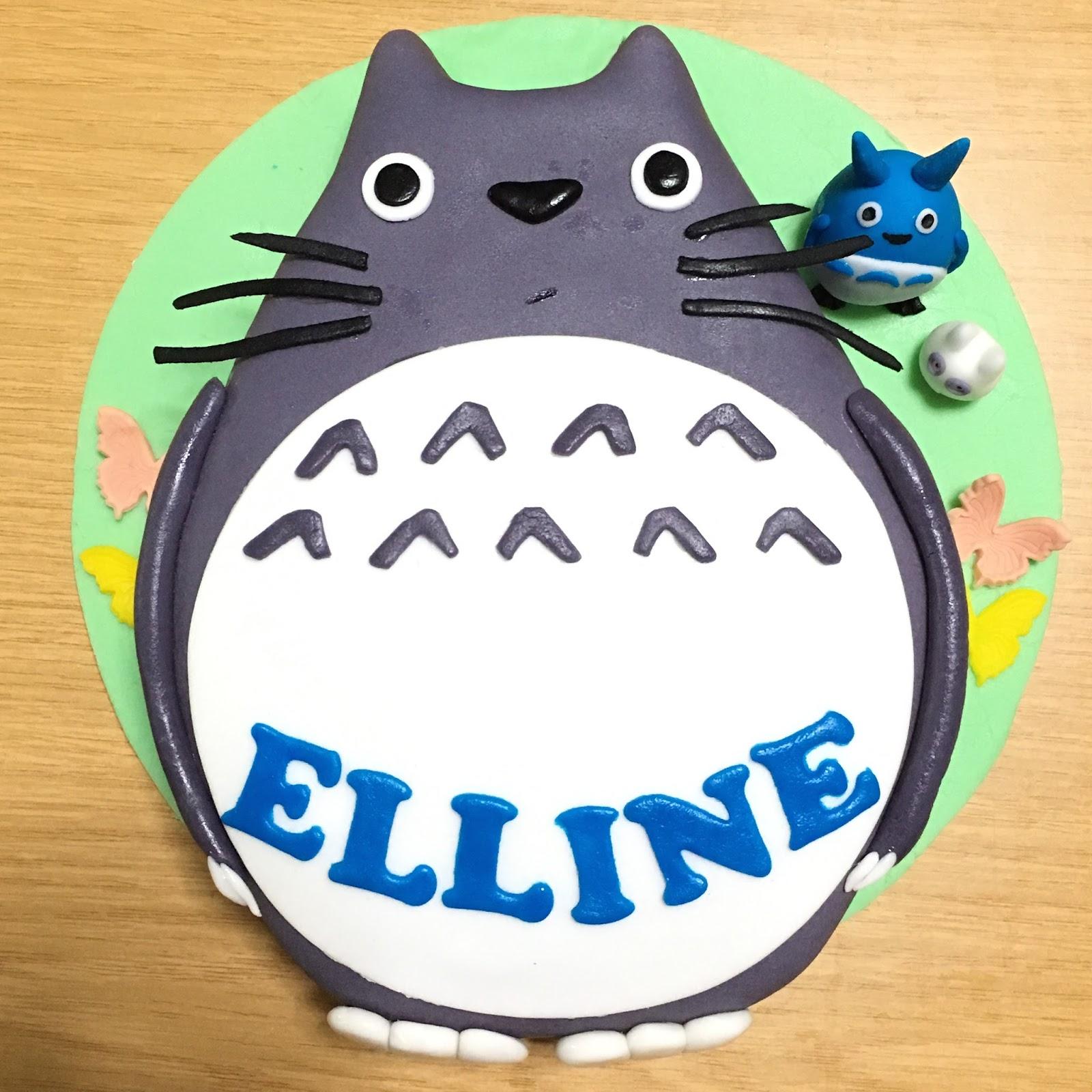 Swell Totoro Cake Sherbakes Funny Birthday Cards Online Aeocydamsfinfo