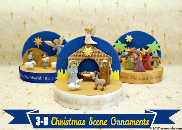 diy nativity ornaments