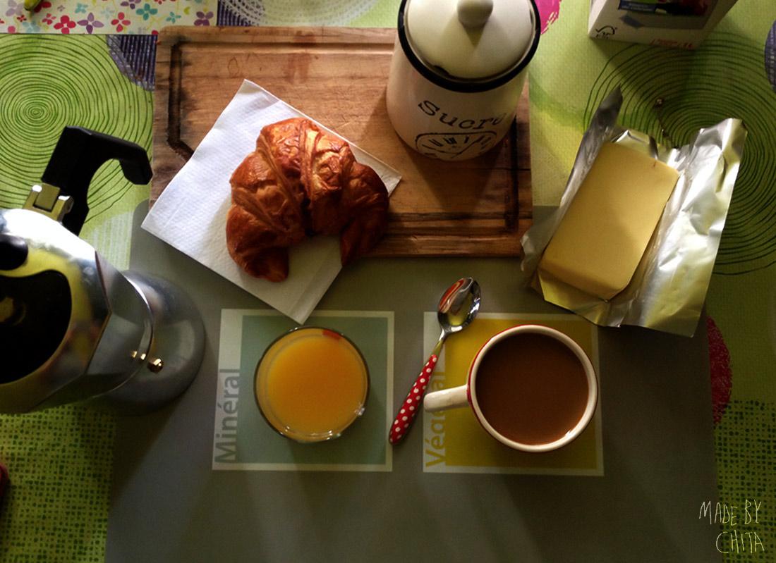 Breakfast-Coffee-Croissant