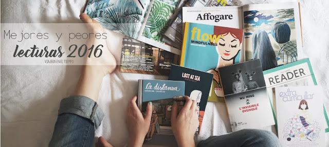 #Top3  mejores y peores lecturas 2016