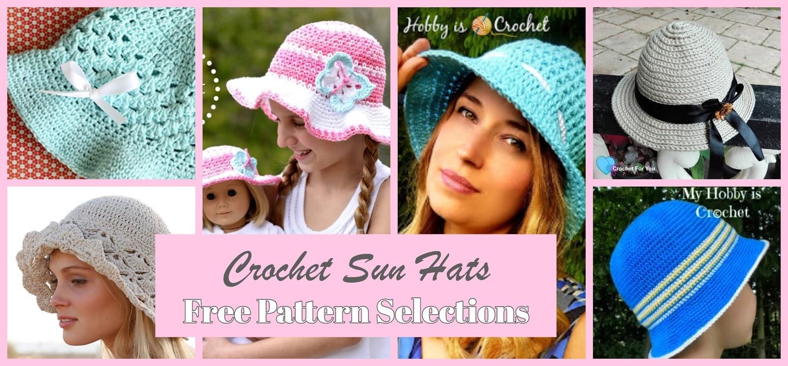 014e4f17e79 Lullaby Lodge: Get Set For Summer! Six Stunning Crochet Sun Hats ...