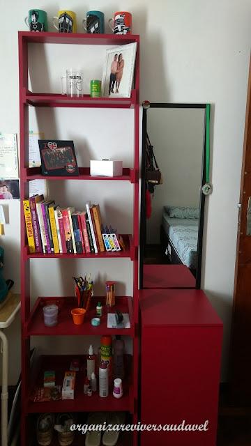 Estante e armário