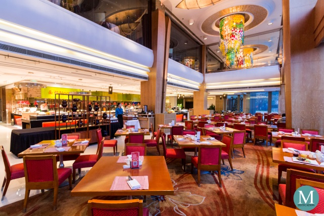 all day dining restaurant at Shangri-La Hotel Suzhou