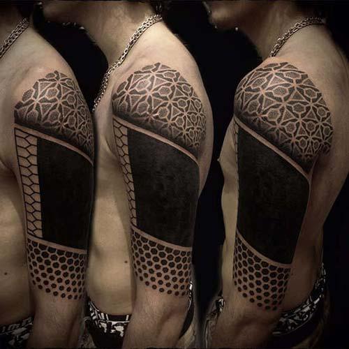 üst kol dövmeleri erkek half sleeve tattoos for men