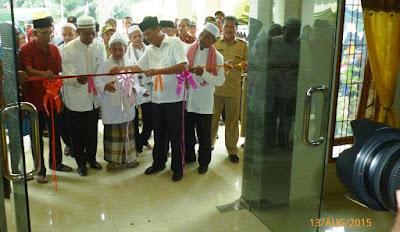 Peresmian Kantor Camat Bandar Pulau