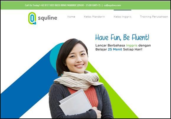 Kursus Bahasa Inggris Online di Squline Mudah dan Praktis