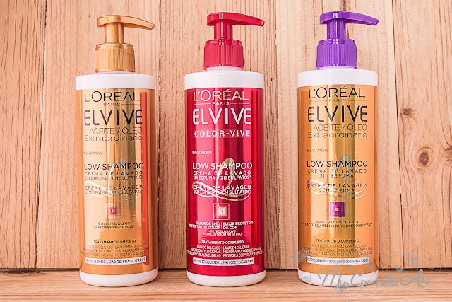 Ganadora del Pack de Low Shampoo de L'Oreal