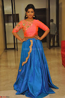 Nithya Shetty in Orange Choli at Kalamandir Foundation 7th anniversary Celebrations ~  Actress Galleries 140.JPG