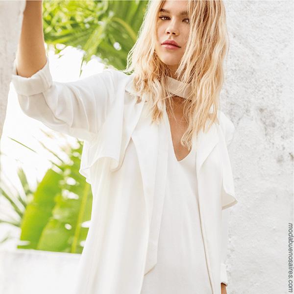Moda primavera verano 2018 | Tendencias primavera verano 2018 looks femeninos.