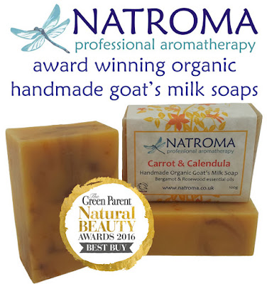Natroma award winning handmade natural goats milk soaps