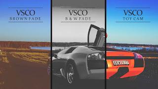 Membuat Effects Foto Keren kekinian dengan VSCO di Android