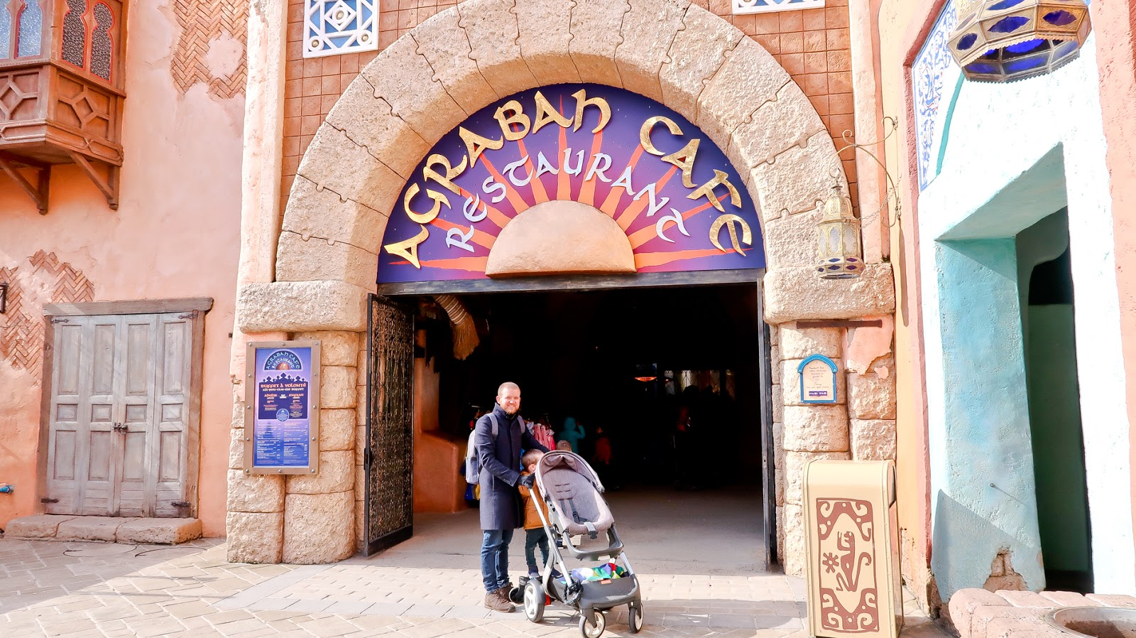 agrabah cafe disneyland paris, where to eat as a vegetarian disneyland paris, vegetarian in disneyland paris,