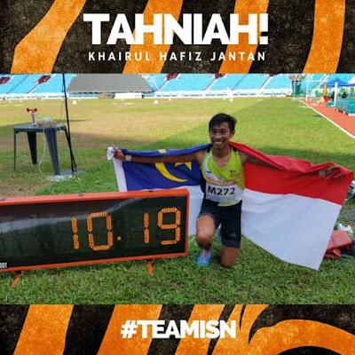 Biodata Khairul Hafiz Jantan 'The Speedy Jantan' Raja Pecut Asia Tenggara