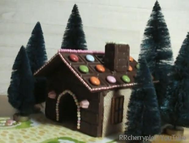 cara mudah untuk buat rumah coklat