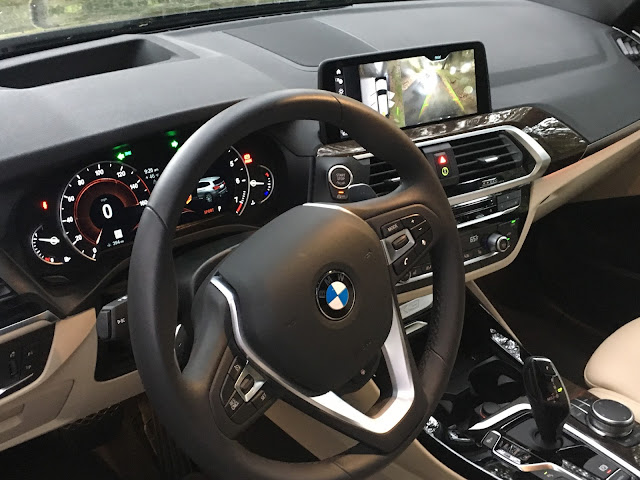 Interior view of 2018 BMW X3 xDrive30i