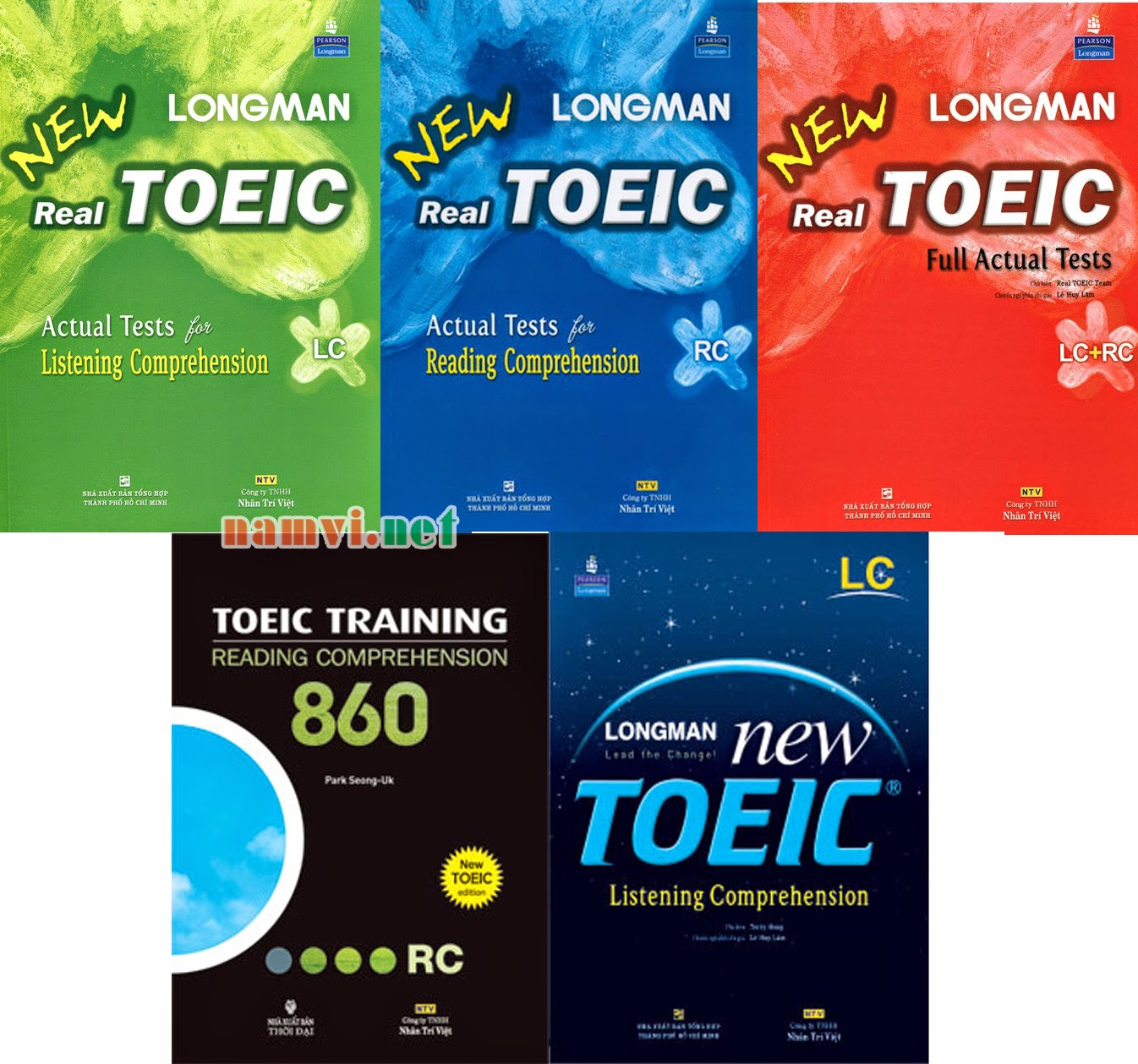 giáo trình New Longman Real TOEIC Actual Tests