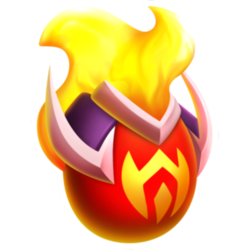 Appearance of Warfare Dragon when egg