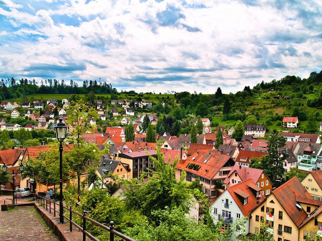 A tour through Germany will have you visiting one storybook village after another such as the village of Altensteig. Photo: 1Yen.
