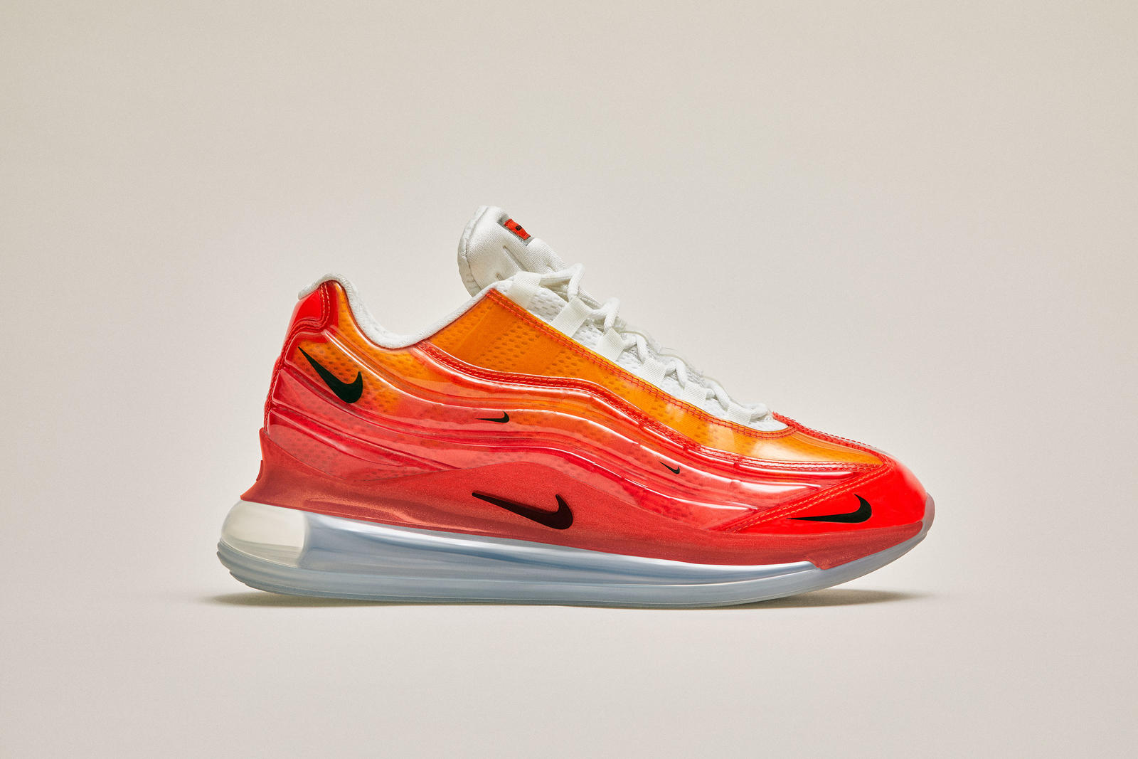 best loved b9df1 12b86 The Nike Air Max 720 95 Heron Preston By You marries the Air Max 720 and  Air Max 95 while highlighting the Air-Sole with an Air-wrapped upper. The  shoe is ...