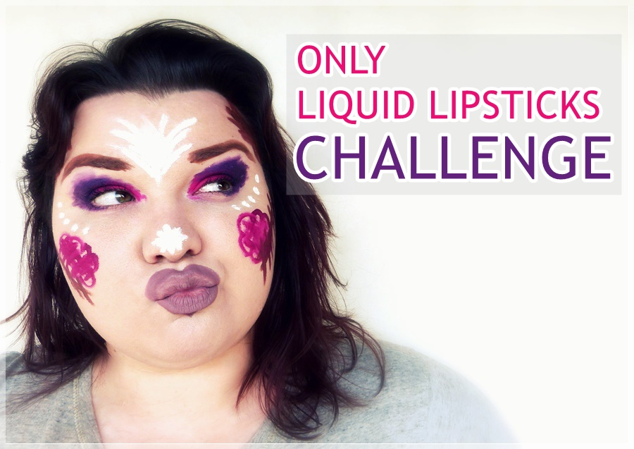 only liquid lipsticks challenge