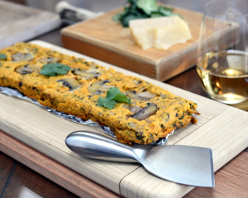 Savory Carrot-Mushroom Pâté ♥ AVeggieVenture.com, a lovely vegetable spread. Low Cal. Low Carb. Gluten Free.