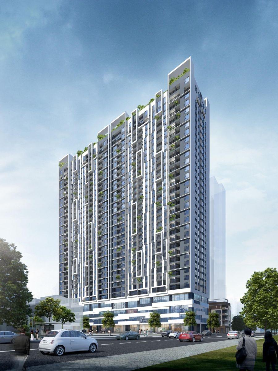 Chung cư Viha Complex.