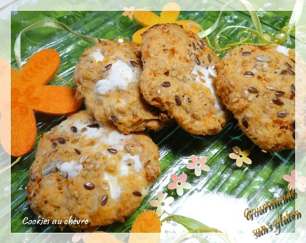 Cookies au chèvre et aux flocons de sarrasin