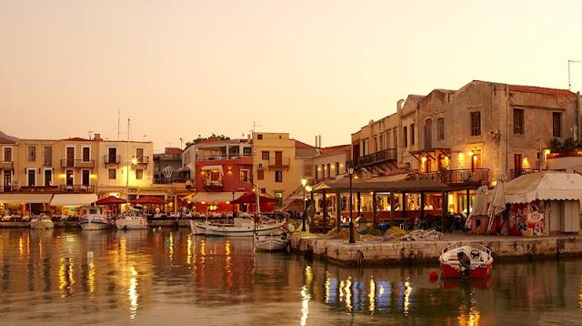 Passeio pelas ruas de Rethymnon, Creta