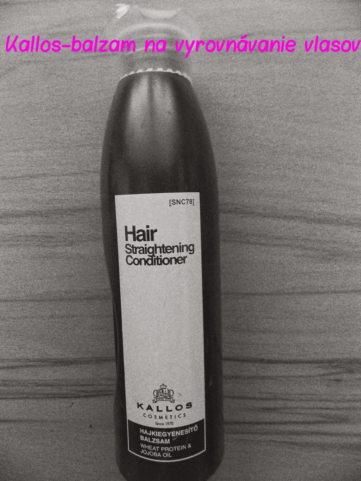 Na dnes mám pre Vás pripravenú recenziu na produkt značky Kallos. Jedná sa  o balzam na vyrovnávanie vlasov. Uspel  Čítajte ďalej!  ) 0b164fdae4f