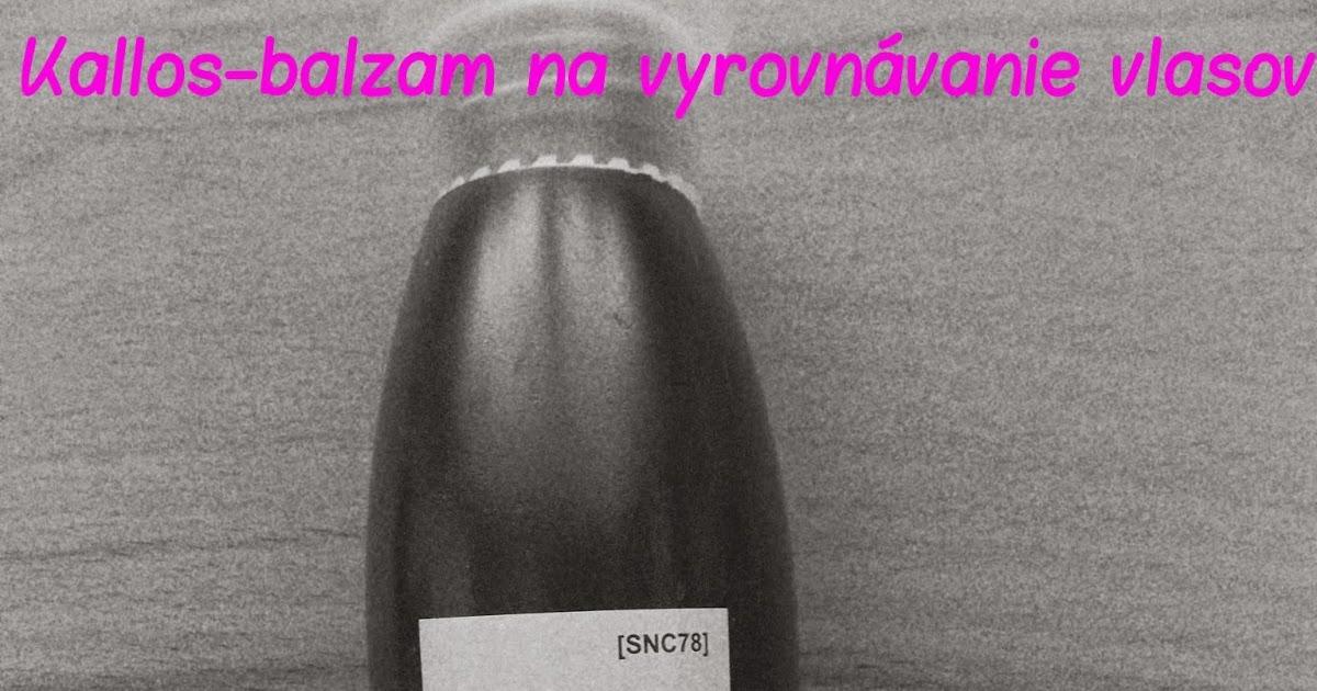 Kallos - balzam na vyrovnávanie vlasov 22180057913