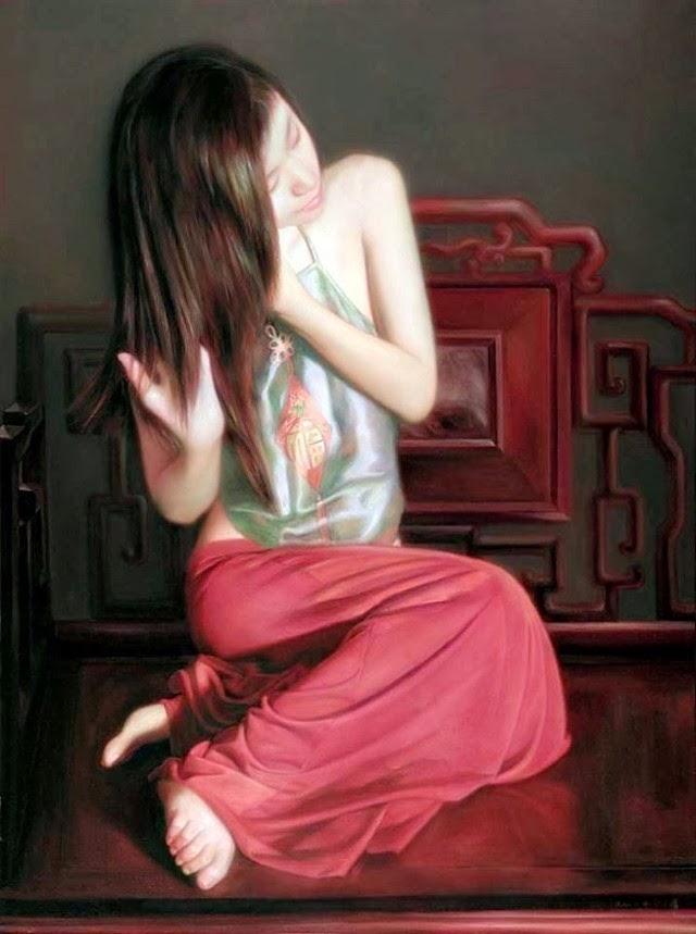 Китайский художник-реалист. XiaoYi Yu