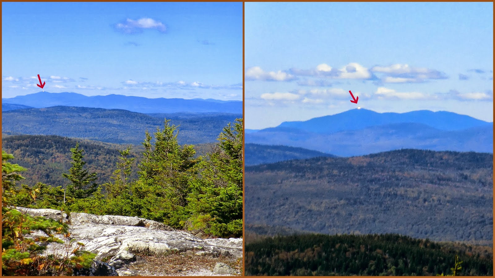 1happyhiker A Trek To Blueberry Mountain The One Near