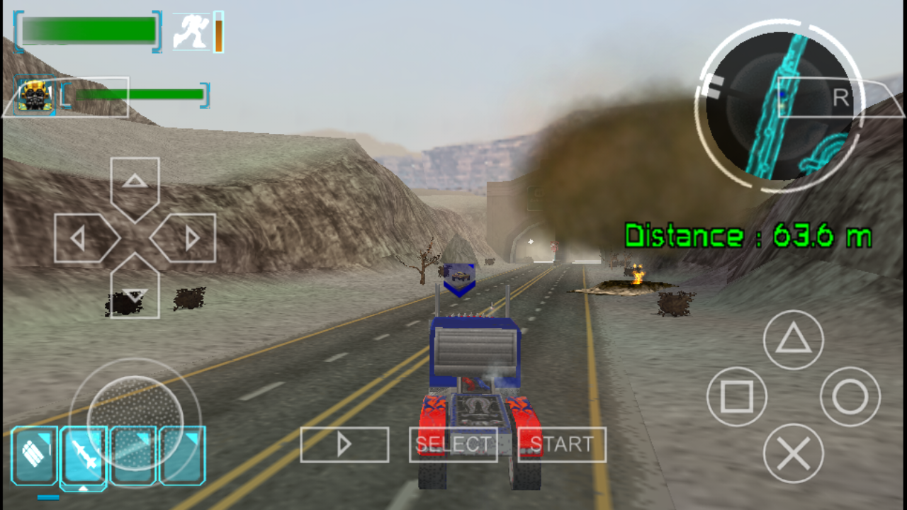 Transformers The Game PSP ISO Free Download - Free PSP ...