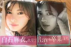 Nogizaka46 Shiraishi Mai to graduate from Ray Magazine