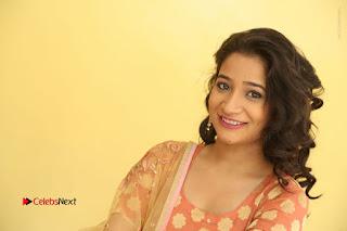 Telugu Actress Santoshi Sharma Latest Stills in Salwar Kameez at HBD Movie Teaser Launch  0132.JPG