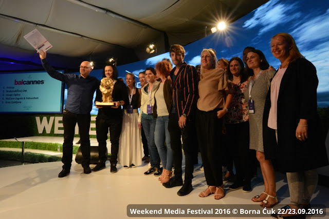 9.Weekend Media Festival 2016 @ Rovinj 22/23.09.2016 pobjednici BalCannes