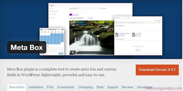 Hướng dẫn sử dụng Meta-box plugin trong WordPress