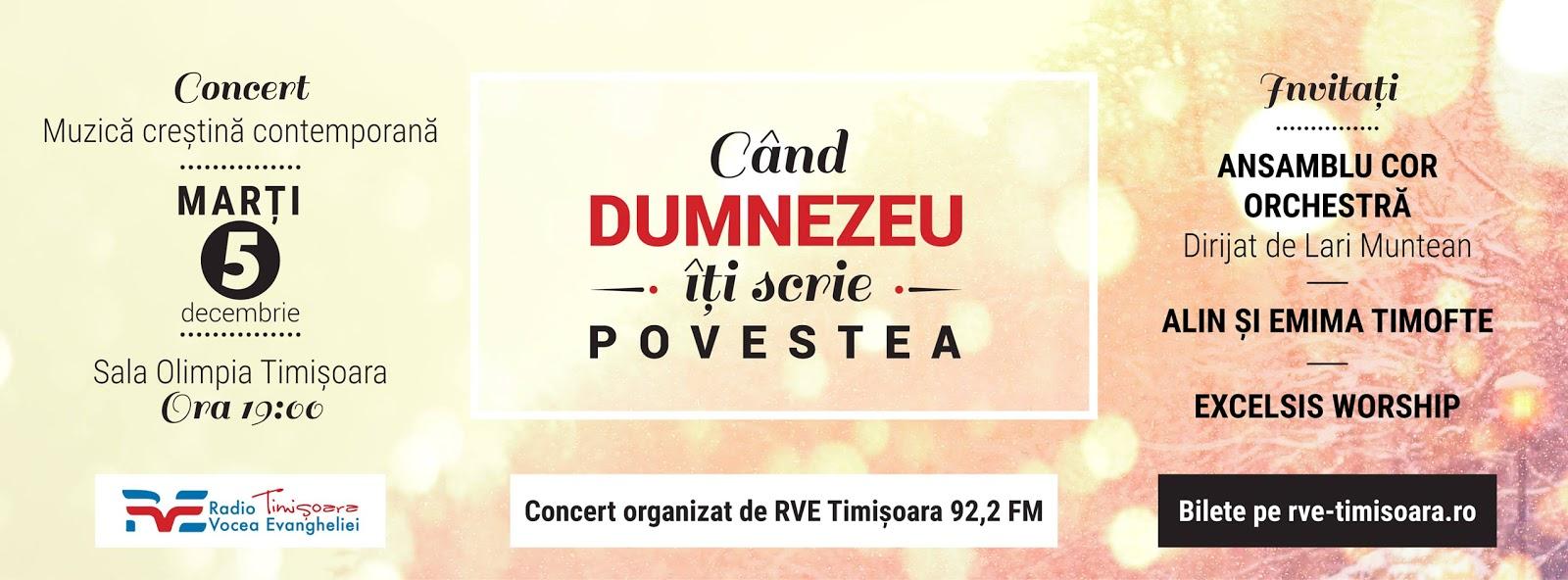 """Concert """"Deschide-ți inima"""" la Timisoara (5 decembrie 2017)"""