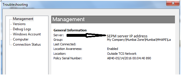 Symantec gup not updating clients
