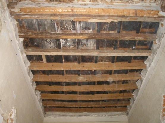 Controsoffitto Con Travi In Legno : Il legno negli edifici storici ingegneria e dintorni