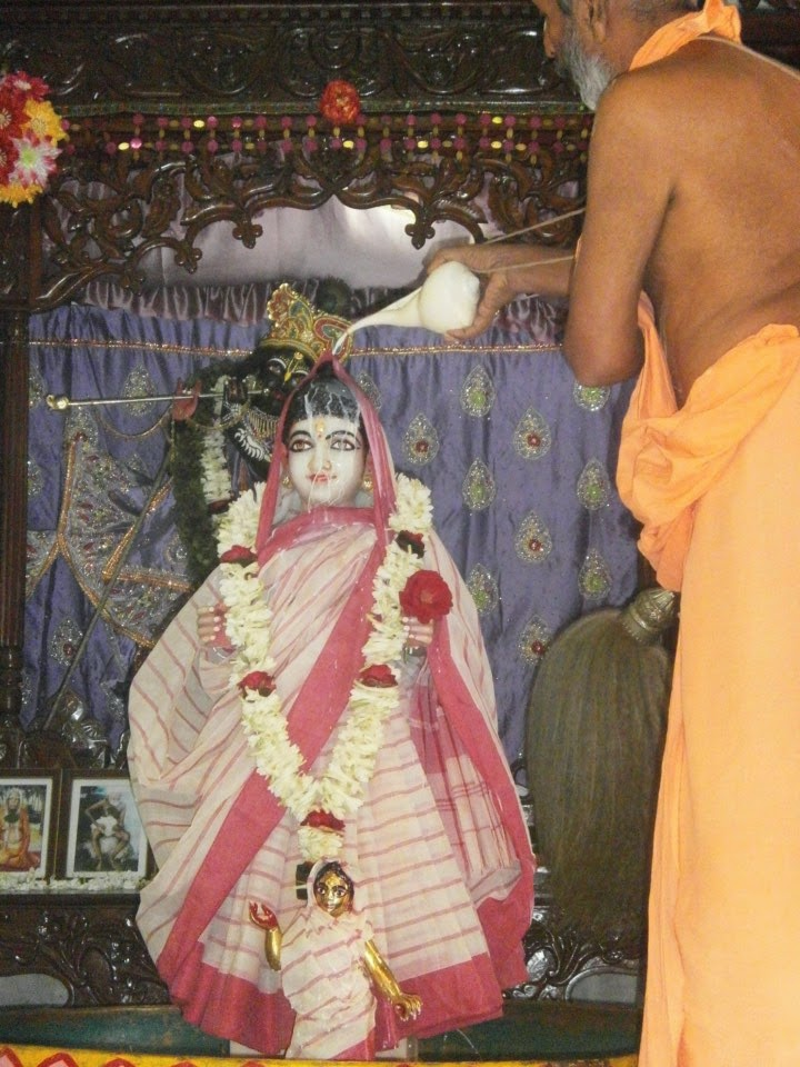 Hare Krishna News - Gaudiya News: Sri Radhastami darshan